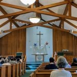 A view of the sanctuary on Epiphany Sunday
