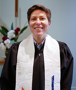 Senior Pastor Lacey Brown
