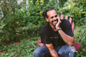 Author Ross Gay