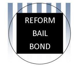 A logo for the cash bail bond reform movement.